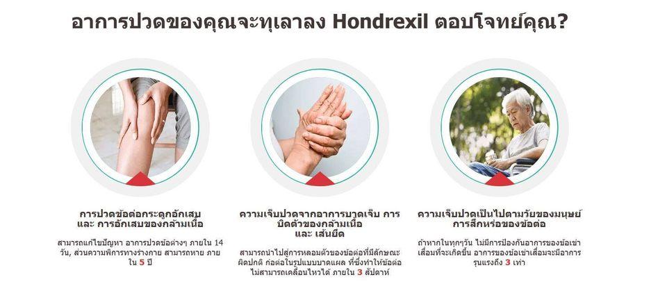 Hondrexil บทวิจารณ์