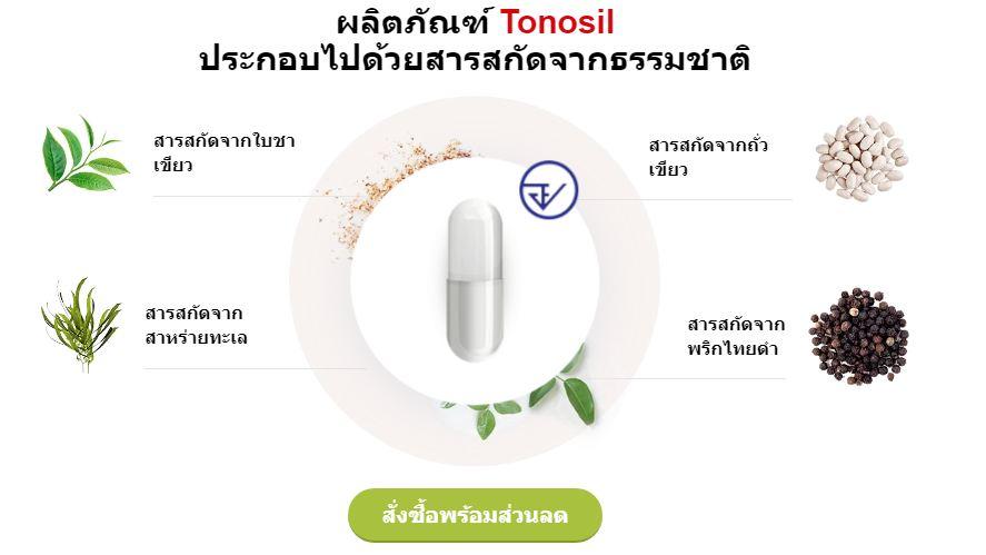 Tonosil แท็บเล็ต